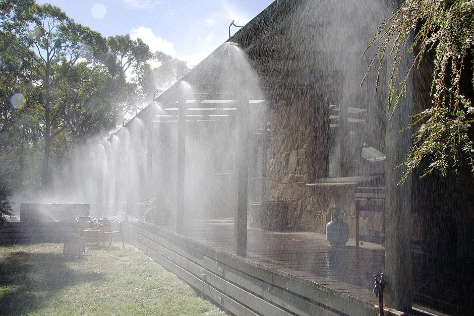 blaze control  bushfire sprinkler systems